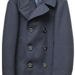 Le manteau bleu de la marine, le caban