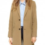 Le manteau long chesterfield