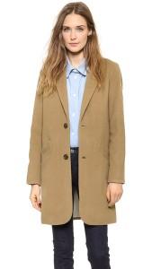 Le manteau long chesterfield