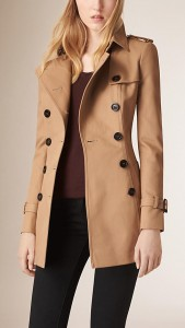La gabardine, un manteau en coton serré
