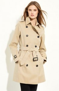Le trench coat femme traditionnel