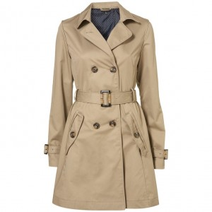 Le trench-coat femme, un look reconnaissable 88b8fde766b0