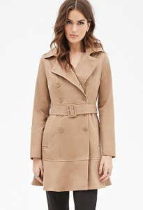 Le trench coat, un manteau long femme